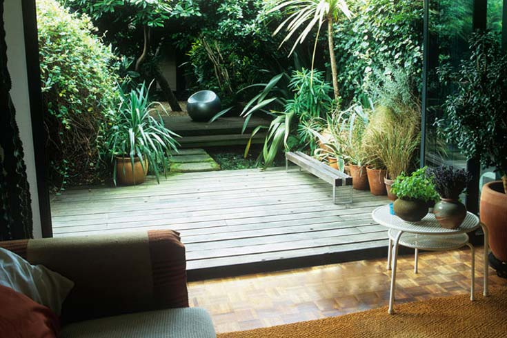 Cleve West, Landscape Design, Garden Designer, Award Winning, Small Town Garden, Water, Decking, Room Outside